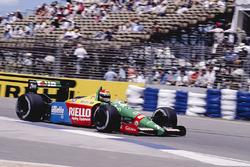 Эмануэле Пирро, Benetton B189 Ford