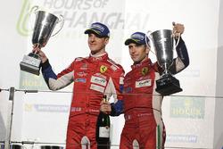 Подіум GT Pro: Джейм Каладо, Алессандро П'єр ГУіді, AF Corse