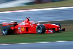 Eddie Irvine, Ferrari F399 pist dışında