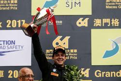 Podium: second place Augusto Farfus, BMW Team Schnitzer, BMW M6 GT3