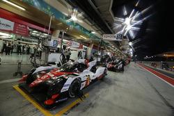 #8 Toyota Gazoo Racing Toyota TS050-Hybrid: Sébastien Buemi, Anthony Davidson, Kazuki Nakajima