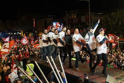 Perayaan gelar Marc Marquez