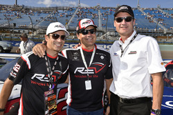 Helio Castroneves ve Tim Cindric