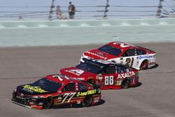 Erik Jones, Furniture Row Racing Toyota Dale Earnhardt Jr., Hendrick Motorsports Chevrolet Ryan Blaney, Wood Brothers Racing Ford
