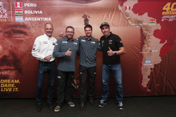 Christian Lavieille, Tobias Henschel, Marcus Walcher et Nani Roma