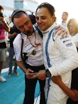 Paddy Lowe, directeur technique, Williams Formula 1, Felipe Massa, Williams
