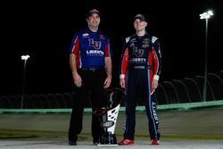2017 champion William Byron, JR Motorsports Chevrolet, crew chief David Elenz