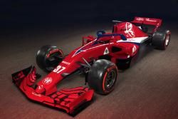 Concepto de la decoración de Sauber F1