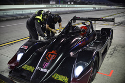 Crews work on the #40 FP2 Norma M20F: Ethan Low & Orlem Sonora of Speed Syndicate Motorsports