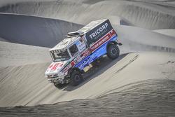 Маурик ван ден Хёвел, Вилко ван Орт и Мартейн ван Роэй, DakarSpeed, Scania Torpedo T4.2 Rallytruck (№516)