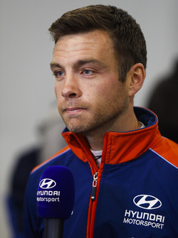 Hayden Paddon, Hyundai WRC driver