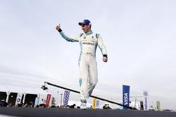 Sébastien Buemi, Renault e.Dams, en el podio