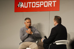 Gil de Ferran talks to Henry Hope-Frost on the Autosport Stage