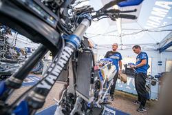 Mecánicos de Yamaha Official Rally Team