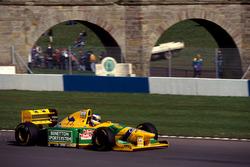 Михаэль Шумахер, Benetton Ford B193B