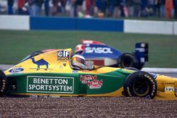 Разворот: Михаэль Шумахер, Benetton Ford B193B