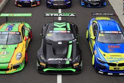 #56 Mercedes-AMG Team Strakka Racing Mercedes AMG GT GT3: Maximilian Buhk, Maximilian Götz, Alvaro Parente
