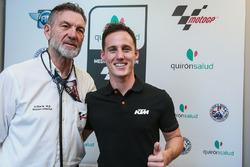 Pol Espargaró, Red Bull KTM Factory Racing, Dr Ángel Charte, director médico MotoGP