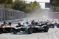 Jean-Eric Vergne, Techeetah voor Nelson Piquet Jr., Jaguar Racing, Andre Lotterer, Techeetah, Sébastien Buemi
