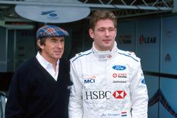 Jos Verstappen, Stewart Ford y Jackie Stewart