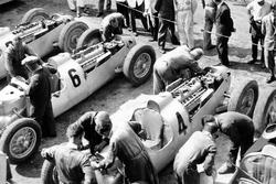Il team Auto Union nel paddock