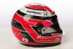 Helm von Jack Harvey, Michael Shank Racing Honda