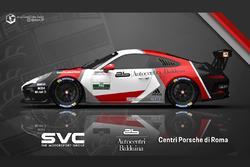 Presentazione della livrea del team AB Racing