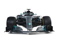 Présentation de la Mercedes AMG F1 W09