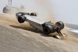 1974 Brabham BT-44 crashes
