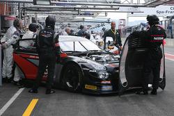 #230 JRM Nissan GT-R Nismo GT3: Humaid Al Masaood, Charles Bateman, Matt Bell, Jody Fannin