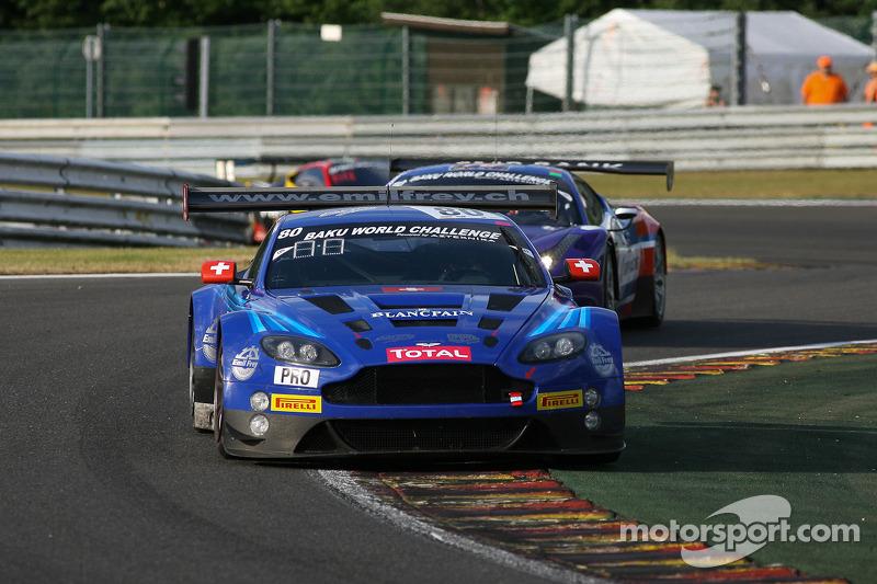 #80 Emil Frey Racing Aston Martin Vantage GT3: Lorenz Frey, Fredy Barth, Gabriele Gardel