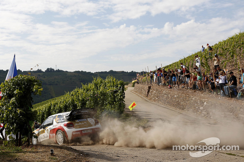 Dani Sordo, Carlos del Barrio, Citroen DS3 WRC Citroen Total Abu Dhabi World Rally Team