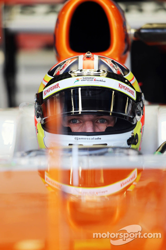 James Calado, Sahara Force India VJM06 Piloto de Teste