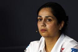 Monisha Kaltenborn, Sauber Takım Patronu FIA basın toplantısı