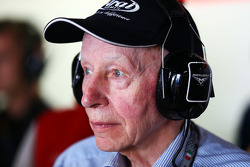 John Surtees, guest of the Marussia F1 Team