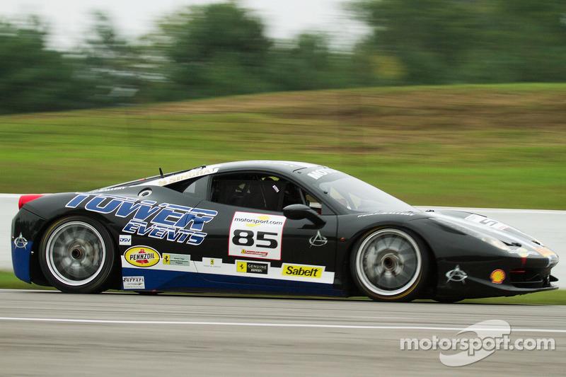 #85 The Auto Gallery Ferrari 458: John Farano