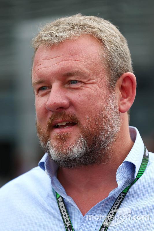 Richard Goddard, Driver Manager of Paul di Resta, Sahara Force India F1 and Jenson Button, McLaren