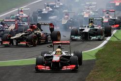 Arrancada Sergio Pérez, McLaren Mercedes