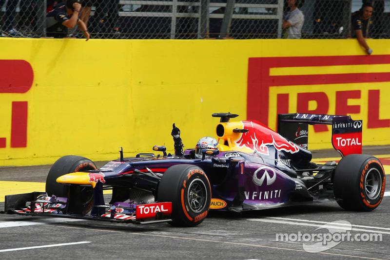 2013. Переможець: Себастьян Феттель, Red Bull - Renault