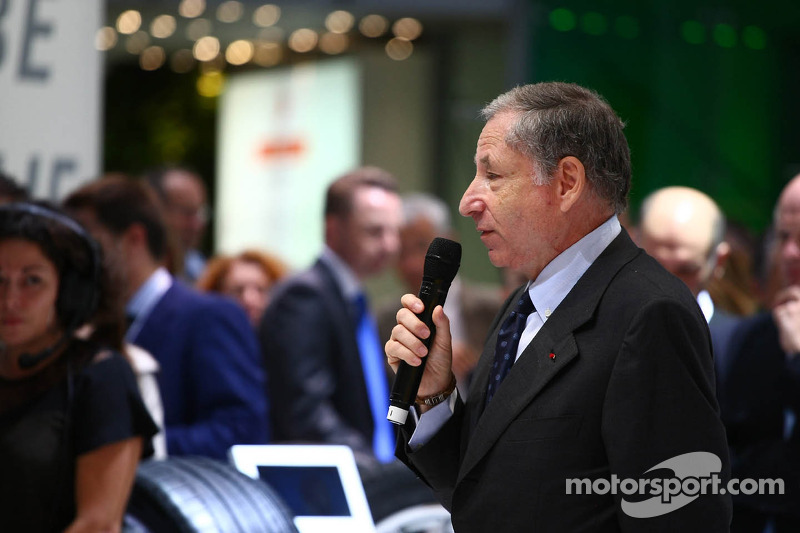 Präsentation der Formel E: Jean Todt, FIA-Präsident