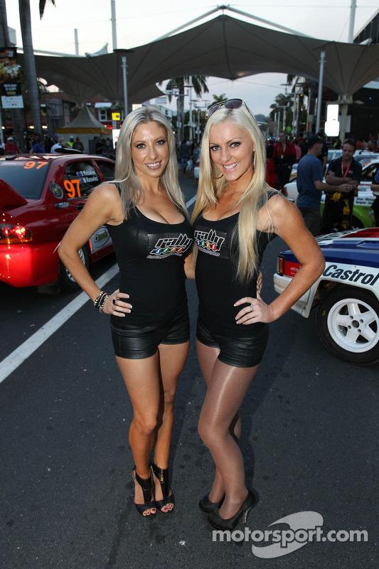 amáveis garotas do Rally