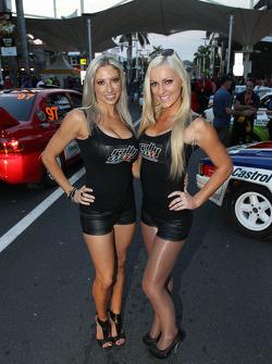 Lovely rally girls