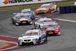 Dirk Werner, BMW Team Schnitzer BMW M3 DTM, Miguel Molina, Audi Sport Team Phoenix Racing Audi A5 DTM, Adrien Tambay, Audi Sport Team Abt Audi A5 DTM, Timo Scheider, Audi Sport Team ABT Sportsline Audi A5 DTM