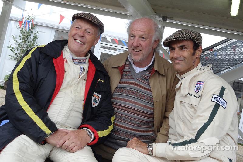 Barrie Williams, David Richards en Emanuele Pirro