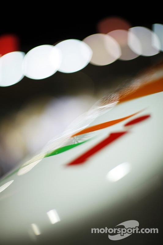 Sahara Force India F1 VJM06 bico