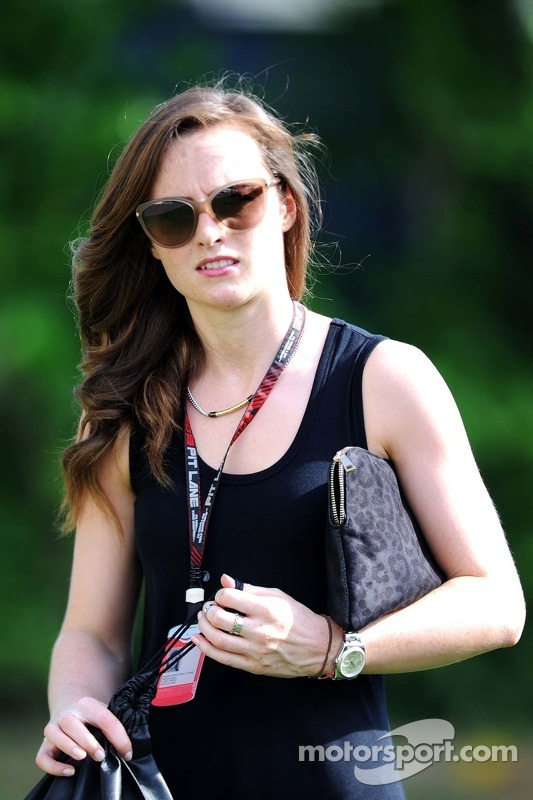 Laura Jordan, namorada do Paul di Resta, Sahara Force India F1