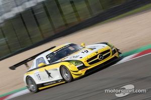 #19 Black Falcon, Mercedes-Benz SLS AMG GT3: Hubert Haupt, Andreas Simonsen