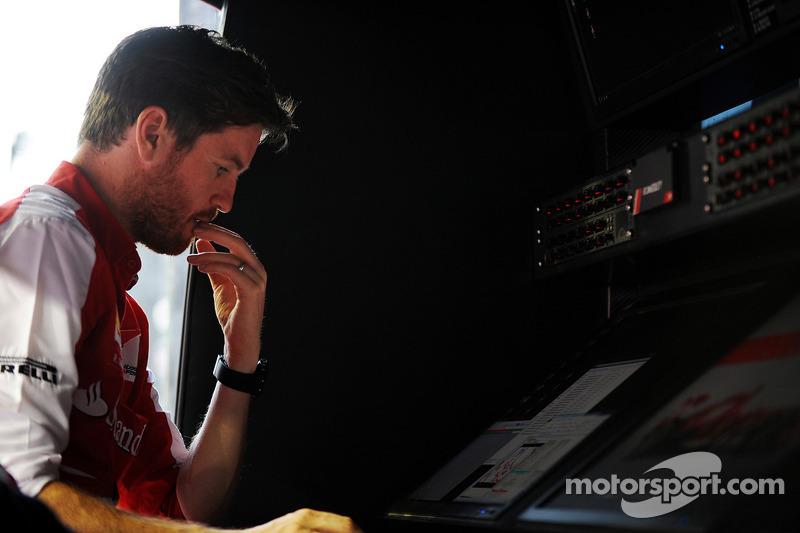 Rob Smedley, Ferrari Race Engineer