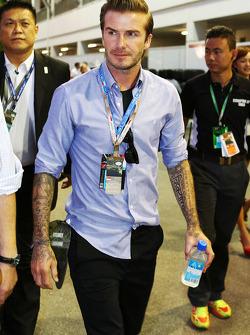 David Beckham, ex-jugador de fútbol
