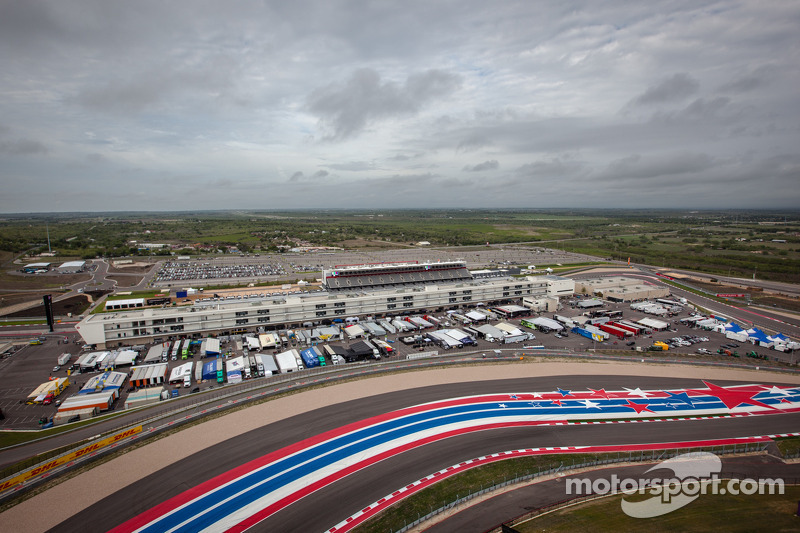 Circuit of the Americas paddock